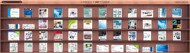 FlipBookCase-Product Sections =1000s of PDFs